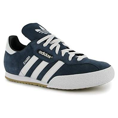adidas samba bleu