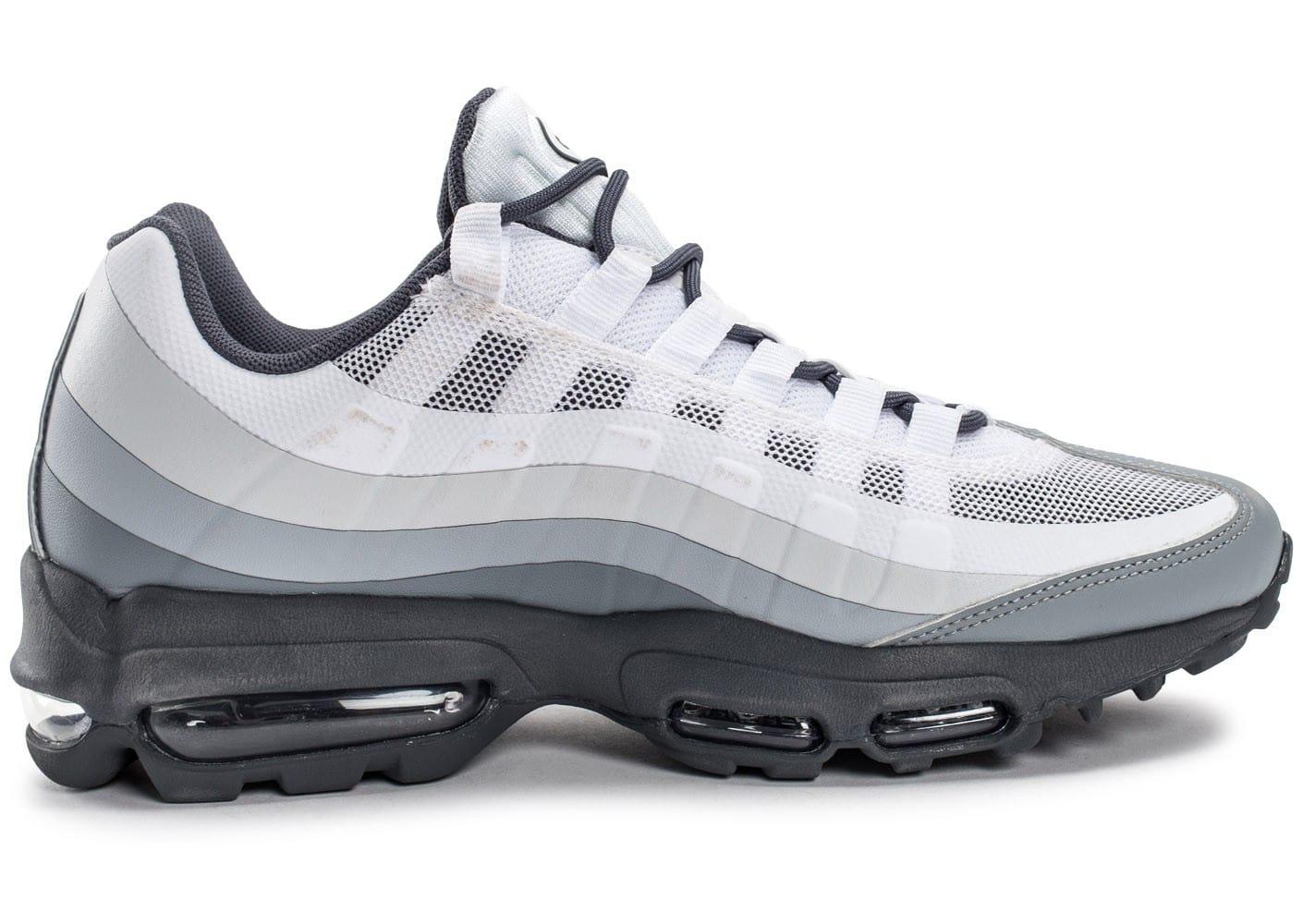 air max 95 grise blanche