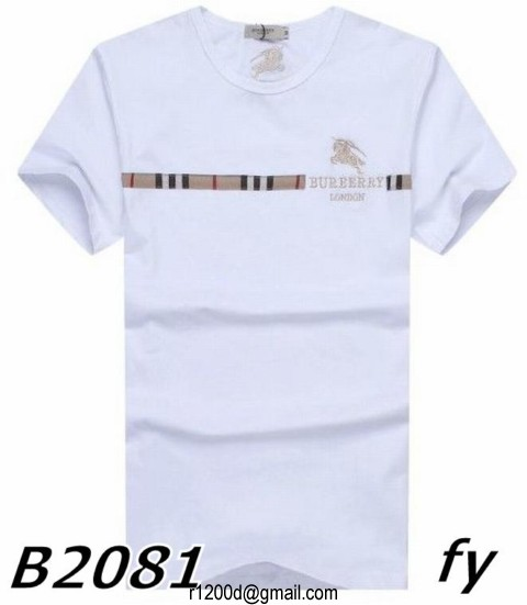 Burberry Homme T Cher Pas Shirt E9DIYeWH2